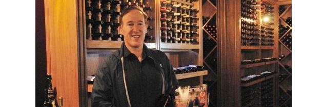 Adam Strum, editor da revista Wine Enthusiast