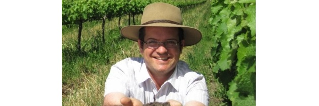 Johnathan Grieve, proprietário da Vinícola Avondale