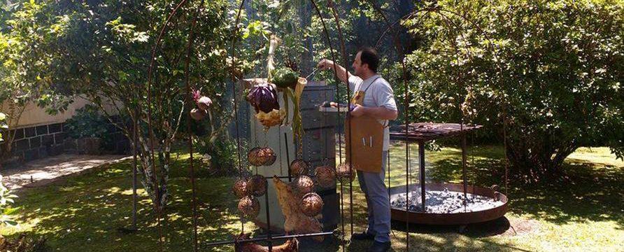 Parador Hampel, almoço colonial com novo chef