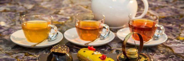 Chá em Bal Harbour e Gamay Noveau no Iguatemi