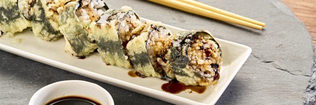 A vez de um famoso sushi