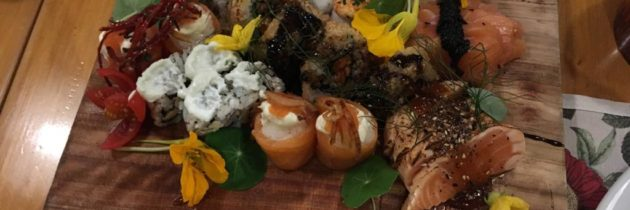 Sushi em São Lourenço, rabada e outras delícias