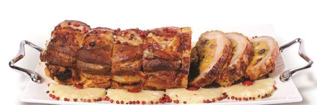 Lombo de porco com vinho