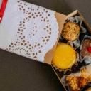 Azeitonas, doces e delivery