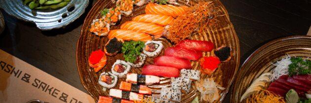 Menu japonês incrementado