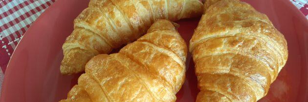 O destaque são os croissants