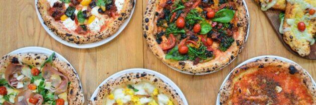 As pizzas em seu dia